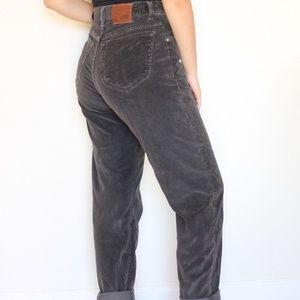 Vintage Lee Corduroy Mom Jeans